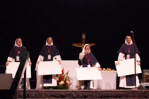 Sisters of Life at the recent Life is Very Good rally (photo: Stephanie Richer)
