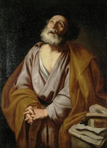 Repentence of St. Peter. Jose de Ribera