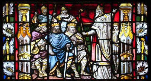 Carlow Cathedral - St. Patrick Preaching to the Kings