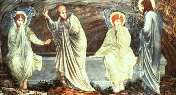 Morning of the Resurrection by Burne-Jones
