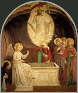 Resurrection by Fra Angelico courtesy of San Marco Museum, Florence