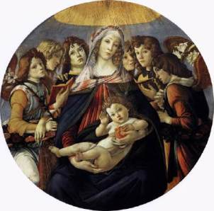 Botticelli - Madonna with Pomegranate