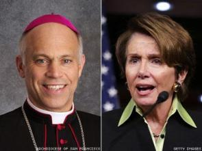 Archbishop Salvatore Cordileone Nancy Pelosi-x400
