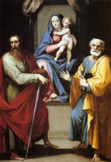 Cavalier d'Arpino - Madonna and Child with Sts. Peter and Paul