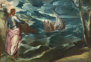 Christ at the Sea of Galilee - Tintoretto