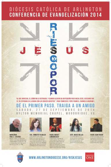 Risk Jesus (Poster - Flyer) Spanish