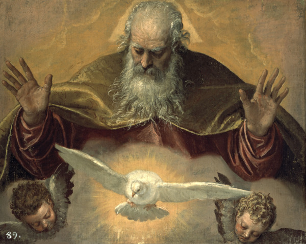 P.Veronese, Gottvater - P.Veronese / God the Father -