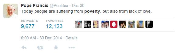 PovertyfromPontifex