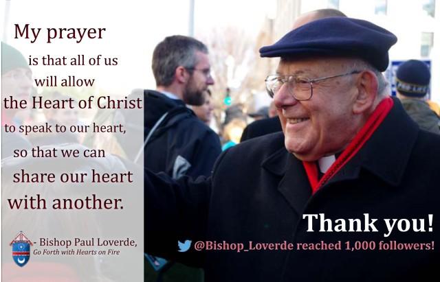 Bishop Loverde 1000 follower meme