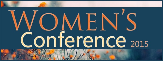 Women's Conference Facebook event header