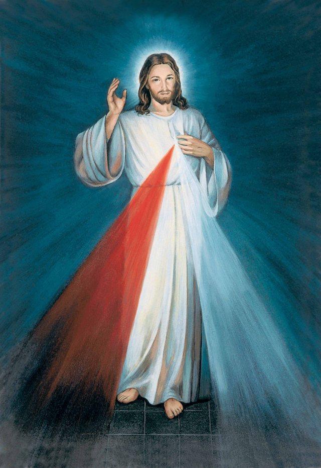 Divine Mercy image Jesus