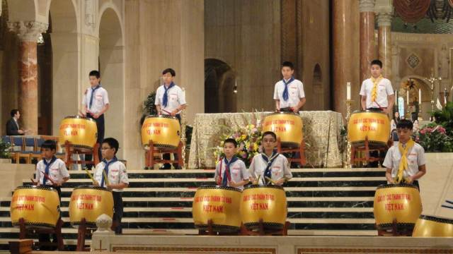 Holy Martyrs of Vietnam Drummers