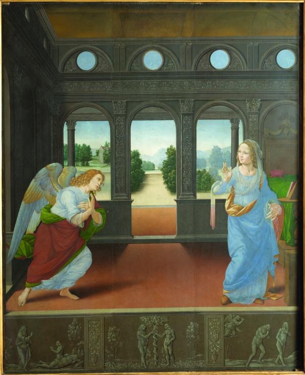 Lorenzo di Credi Annunciazione Inv. 1890 N.3094