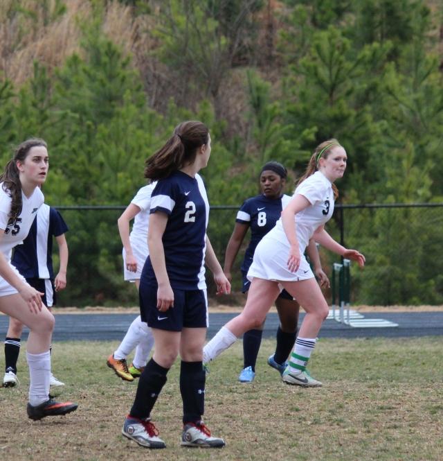 John Paul Girls Varsity Soccer vs. Highland School