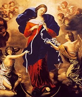Mary, Undoer of Knots, pray for us.