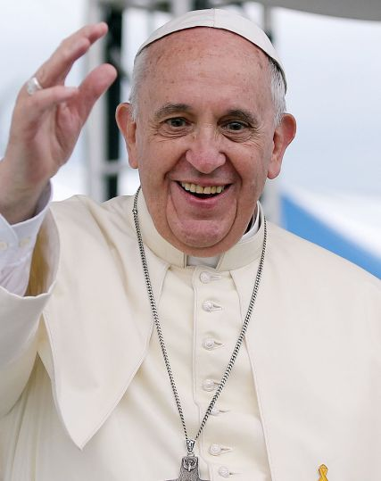 pope francis smile 3