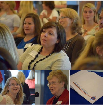 Diocesan New Teacher Orientation collage
