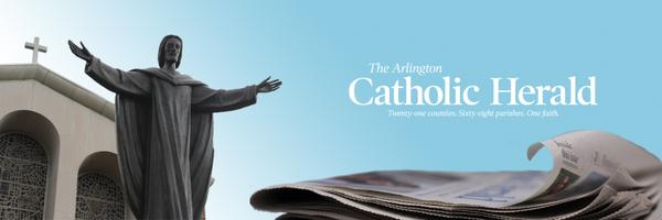 The Arlington Catholic Herald banner