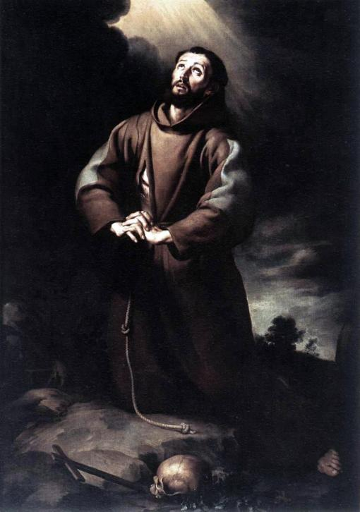Bartolomé_Esteban_Murillo_-_St_Francis_of_Assisi_at_Prayer