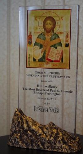 bishop loverde good shepherd award