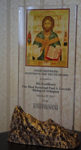 bishop loverde good shepherd award