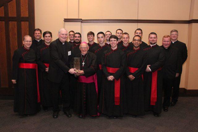 Bishop Loverde Good Shepherd Defending the Truth Award