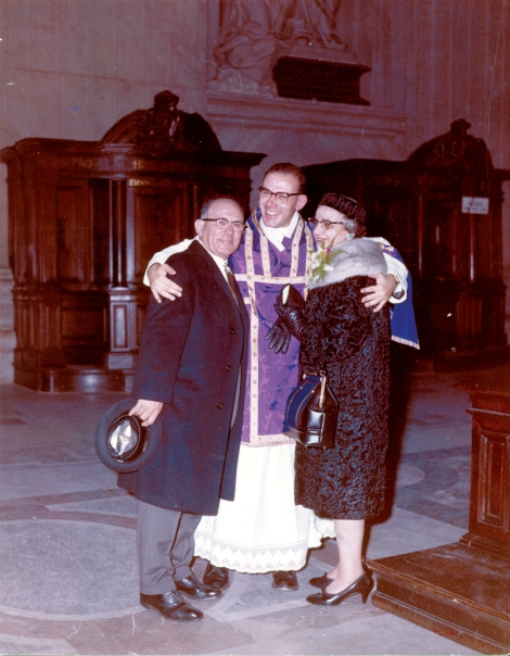 Ordination Rome 1965