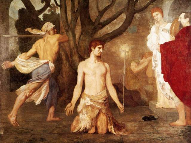 Puvis_de_Chavannes,_Pierre-Cécile_-_The_Beheading_of_St_John_the_Baptist_-_c._1869