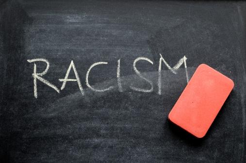 erasing racism blackboard